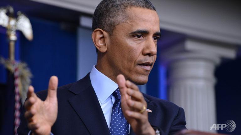 Obama says US won't balance budget in next 10 years