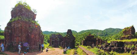 my son tourism village opens