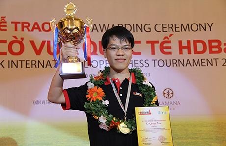 le quang liem wins vietnam international chess tournament