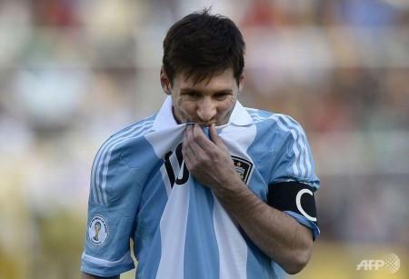 argentina suffer scare in bolivia rivals stumble