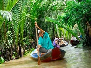 Over 19.4 million tourists visit Mekong Delta in 2012