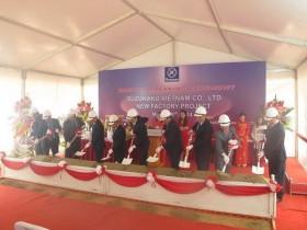 SUZUKAKU builds a new factory in Vinh Phuc