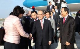 NA Chairman begins Italy trip