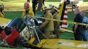 Harrison Ford 'battered but okay' after LA plane crash