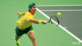 Kokkinakis stuns Rosol to give Australia Davis Cup edge