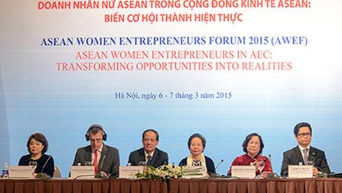 asean women entrepreneurs forum opens in hanoi