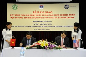 ge healthcare supports medical training for bach mai hospital