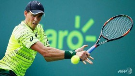 Pospisil spoils Del Potro's return in Miami
