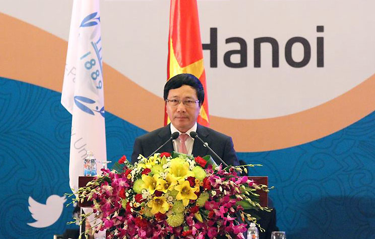 Vietnam shares foreign policy with foreign legislators