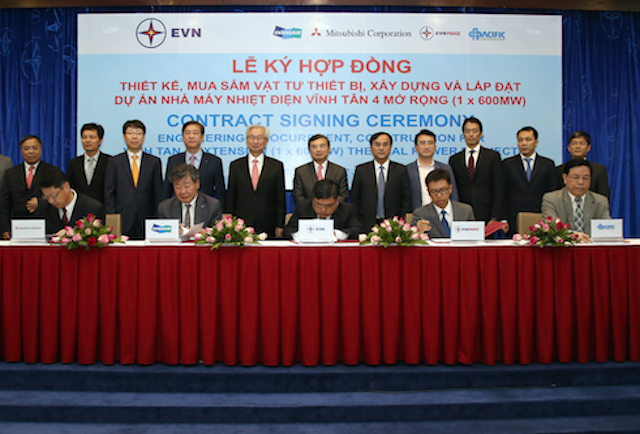 vinh tan 4 expansion epc contract signed
