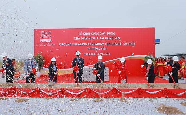 Hung Yen Vietnam  city photos gallery : Nestlé Vietnam breaks ground on $70 million Milo factory in Hung Yen ...
