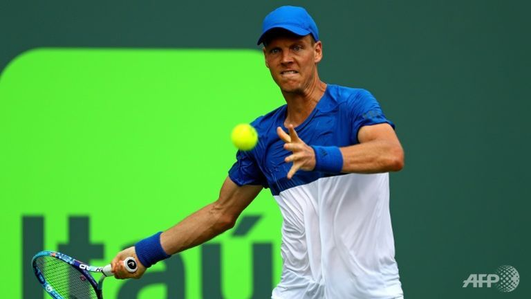 Berdych beats Gasquet to reach Miami Open quarter-finals