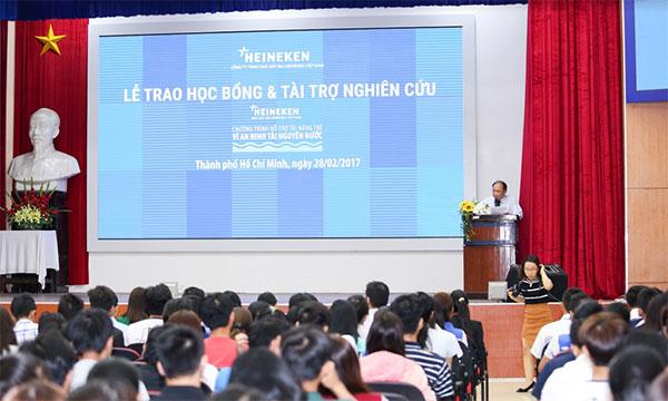 heineken vietnam contributes to water resources security in vietnam