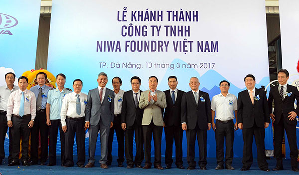 Niwa Foundry Vietnam inaugurates new plant at Danang Hi-tech Park