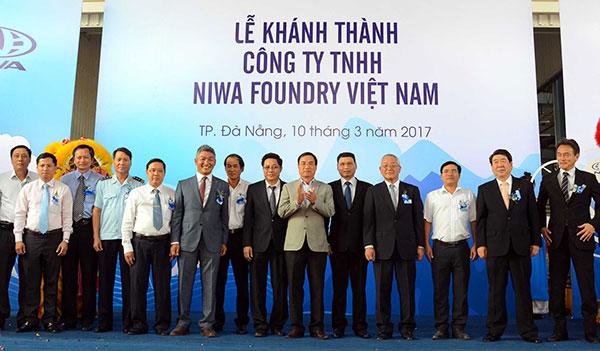 Niwa Foundry Vietnam inaugurates new plant at Danang Hi-tech Park