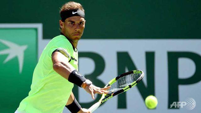 Nadal books Indian Wells fourth round berth