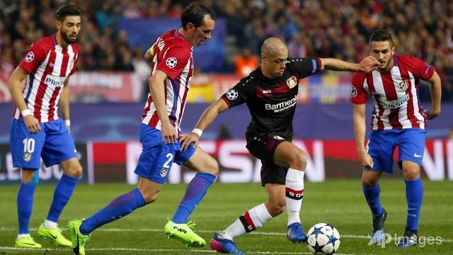 Atletico stroll into Champions League quarter-finals
