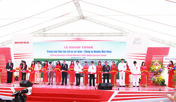 honda inaugurates traffic safety facility
