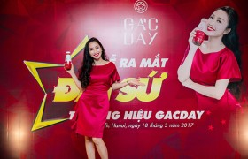 Oc Thanh Van announced as brand ambassador of Gacday drink