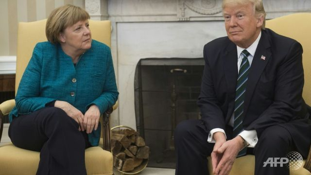 Trump did not refuse to shake Merkel's hand: Spokesperson tells German paper