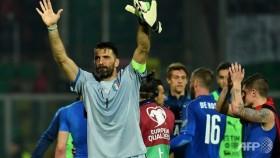Buffon reaches 1,000 as Italy and Spain cruise
