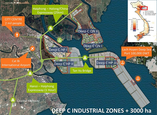 dinh vu industrial zone marks 20 year milestone