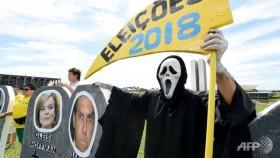 Brazil anti-corruption protests draw weaker turnout