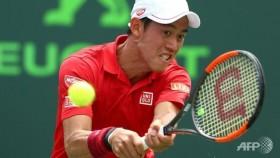 Nishikori advances at Miami Open
