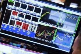Shares narrow gains on short-term risk