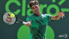 Federer reaches Miami Open fourth round