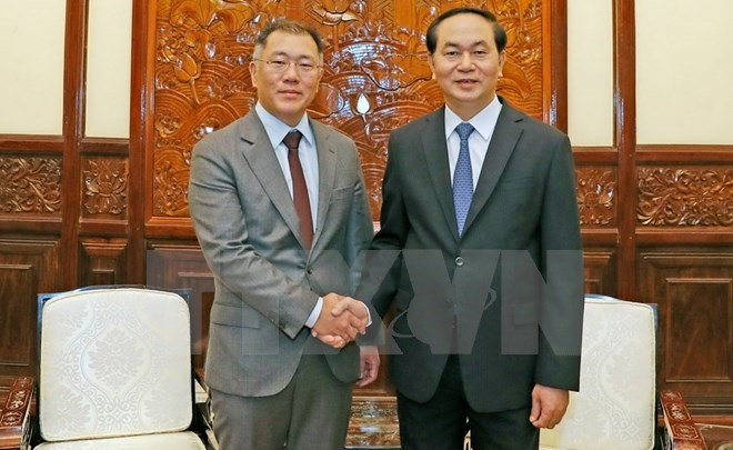 President asks Hyundai to increase localisation rate