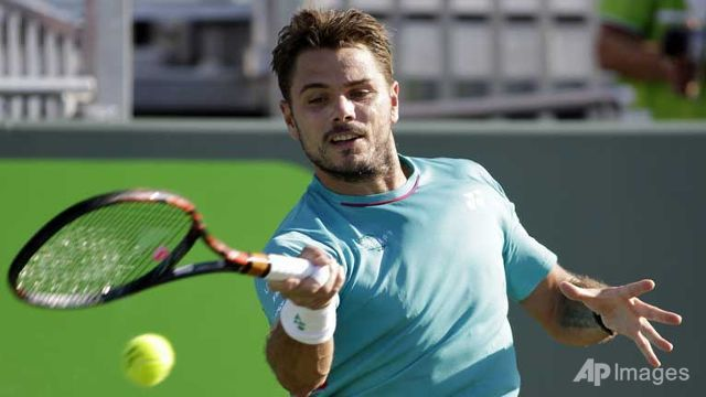 Top seed Wawrinka toppled at Miami Open