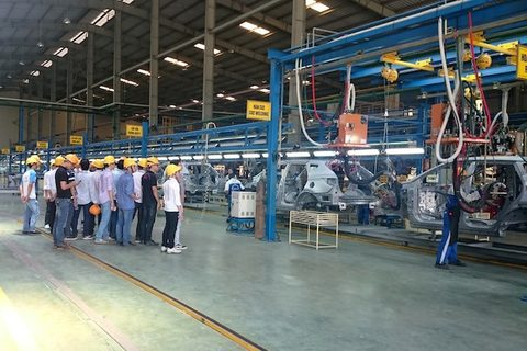 Hyundai assembly plant in Vietnam | vir.con.vn