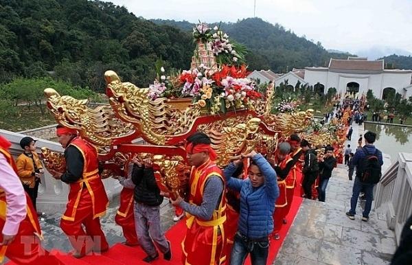 quang ninh spring festivals start national tourism year 2018