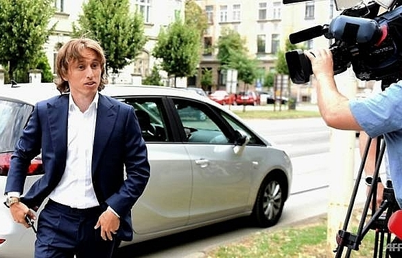 real madrids luka modric charged with false testimony