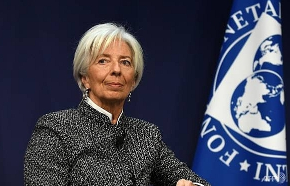 imf chief warns trade war will harm global growth