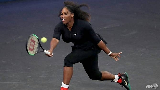 serena williams eager to hit with big guns again