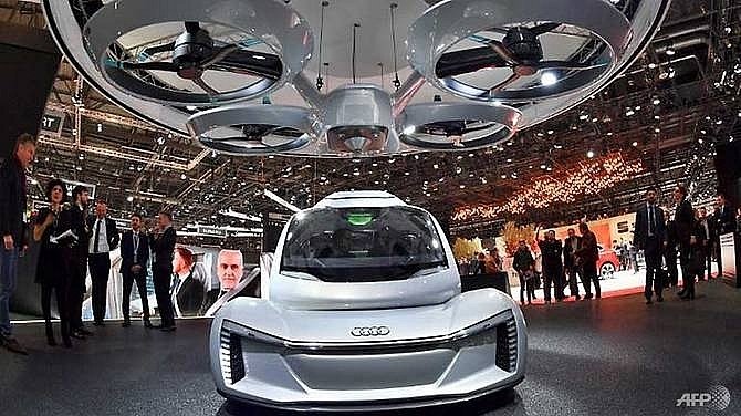 flying cars eye takeoff at geneva motor show
