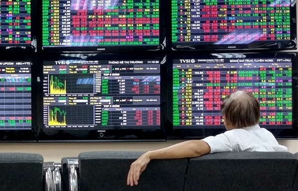 profit taking sends vn stocks down