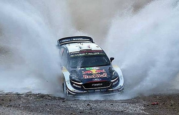 ogier back on top after winning rally mexico
