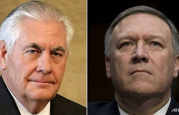 trump fires top diplomat tillerson names cia chief as successor