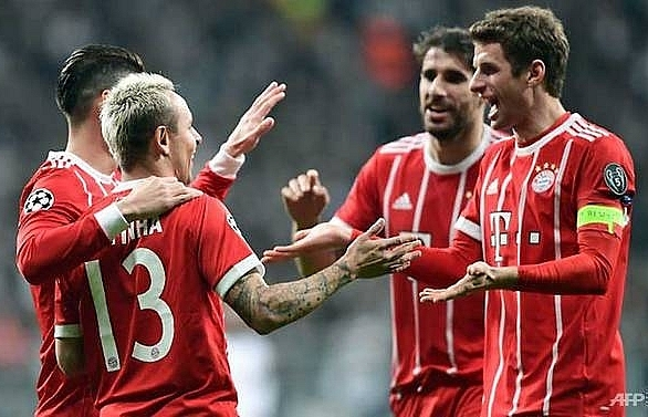 bayern reach champions league quarter finals for seventh year in row