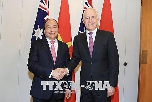 viet nam australia strategic partnership great benefits to both sides