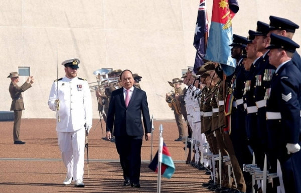 viet nam australia issue joint statement on setting up strategic parternship