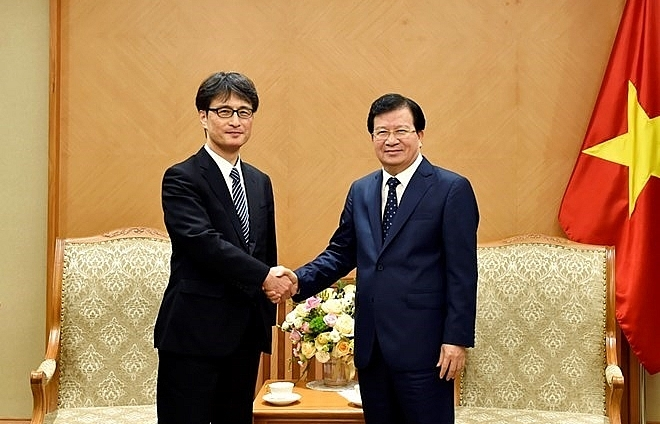 vietnam provides favourable conditions for japanese businesses deputy pm