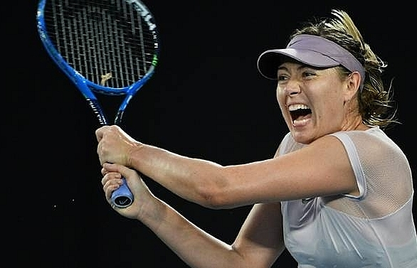 sharapova withdraws from miami open with forearm injury