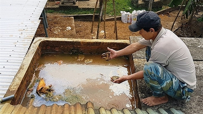 quang nam residents desperate for non contaminated water