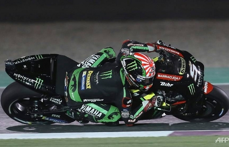 zarco takes pole in qatar with track record
