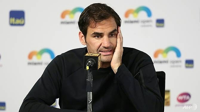 federer relaxed about no 1 ranking quest in miami