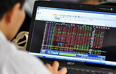 vn index shows sudden slump on selling pressure